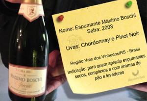 Espumante ou champanhe