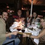 Jantar com amigos no Corrientes 348 em Brasília-DF