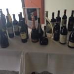 Vinhos degustados durante os dois dias de evento
