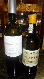 vinho do porto e vinho tinto