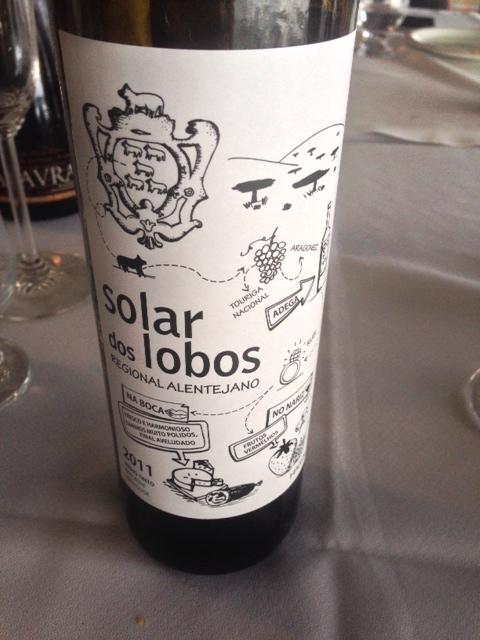 Solar dos Lobos tinto - vinho para agradar paladares de jovens
