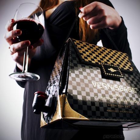 Bolsa de vinho é novidade no Brasil
