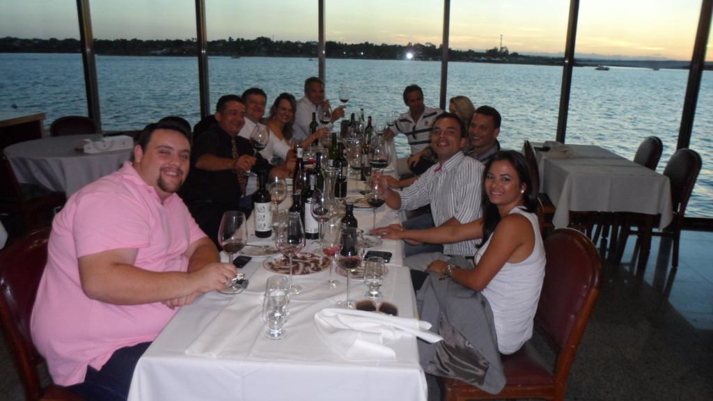 Blog Vinho Tinto participa de degustação do Lote 43