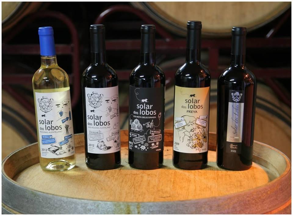 Vinhos portugueses Solar dos Lobos
