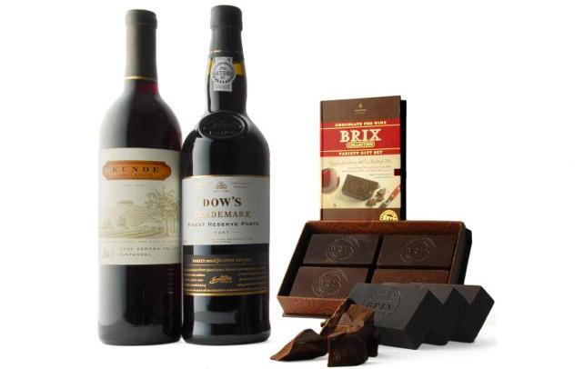 Vinho e chocolate - boa páscoa