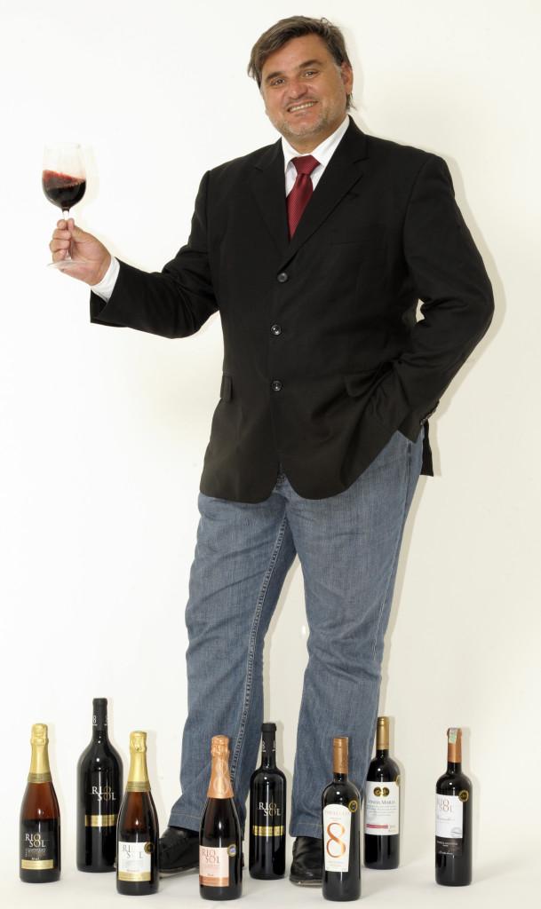 João Santos, diretor da Vinis Brasil Foto: Leo Caldas