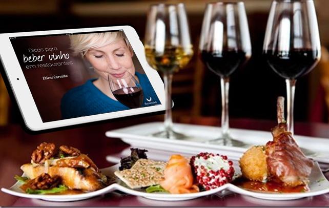 Nesse primeiro volume, você também vai aprender a escolher, degustar e avaliar um vinho no restaurante