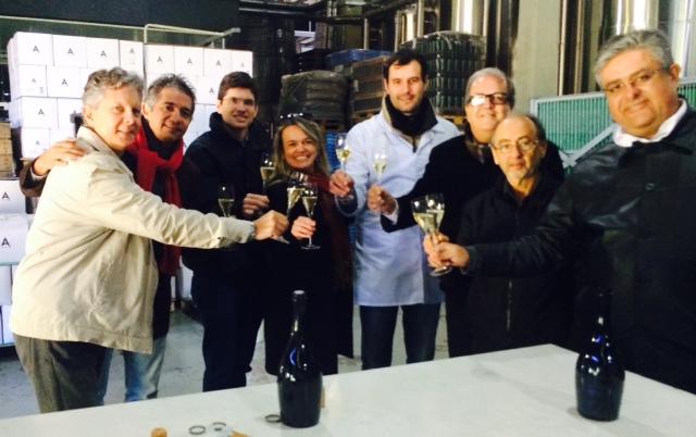 Visita técnica à Vinícola Luiz Argenta - exemplo de vinícola boutique