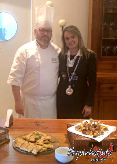 Franco Gioelli - Possui 26 anos de experiência na cozinha: de aprendiz a Chef de Cozinha
