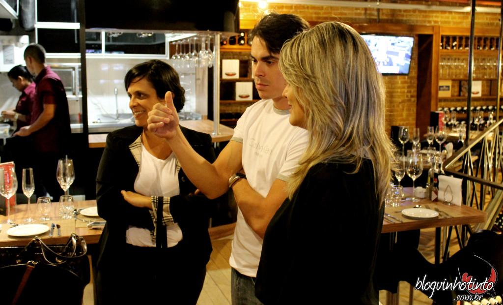 A convite de Marcelo alencar fui conhecer o Wine Bistrô