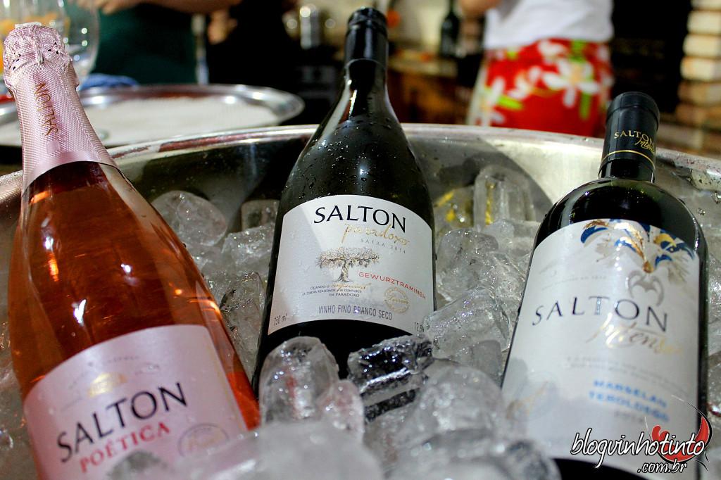 Vinhos da Salton  do Winebar