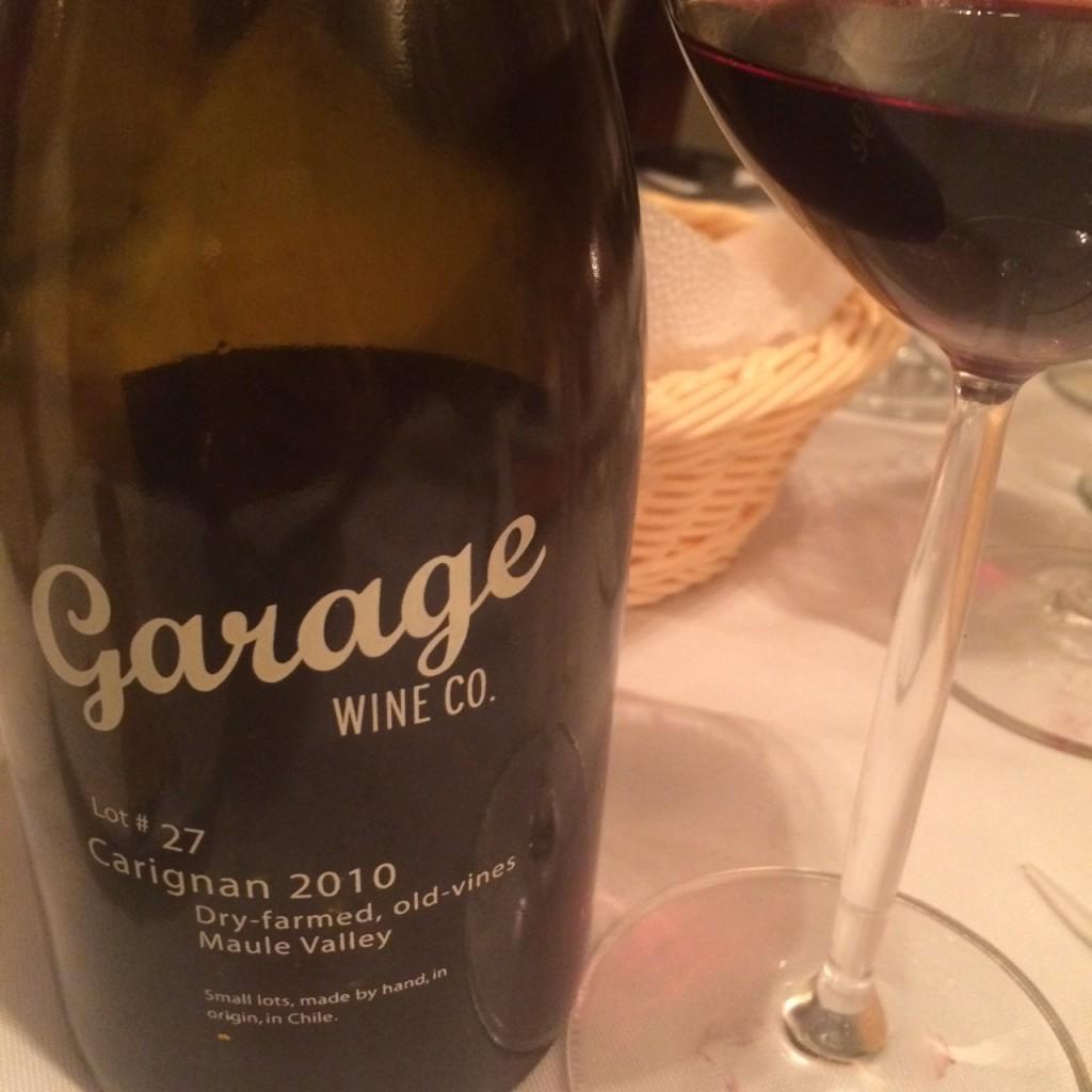 Garage 27 Carignan - Um vinho de garagem interessantíssimo