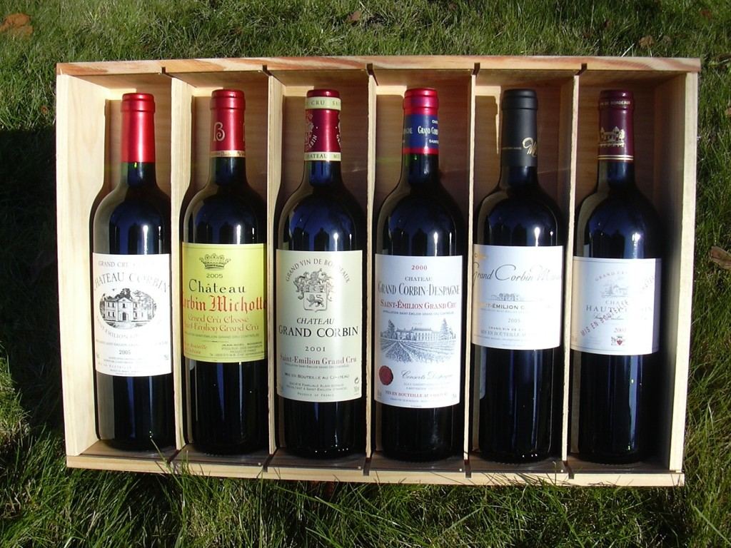 Os grande Bordeaux são exemplos de vinhos que podem envelhecer bem por até duas décadas ou mais