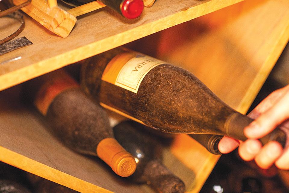 Para melhorar na garrafa, o vinho precisa ter bastante estrutura