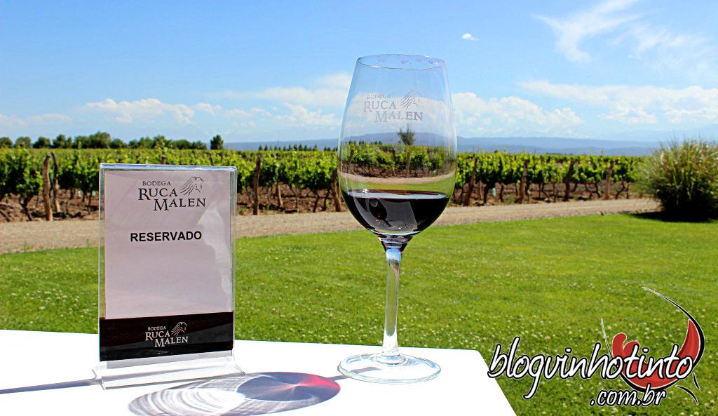 Almoço no restaurante da Bodega Ruca Malen - eleito o melhor restaurante de vinícolas do mundo...