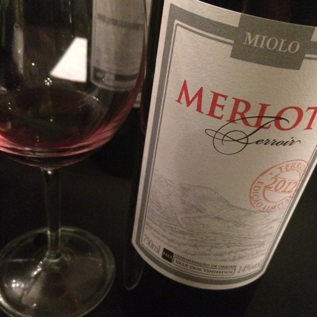 Merlot Terroir 2012 - uma ótima surpresa!