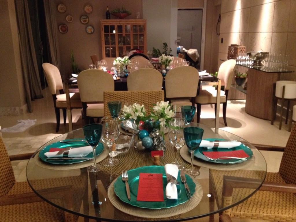 O espaço do gourmet foi todo decorado para receber os confrades.