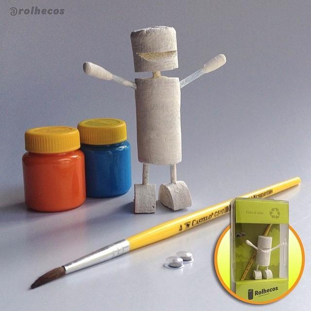 Kit desenvolvido especialmente para crianças.