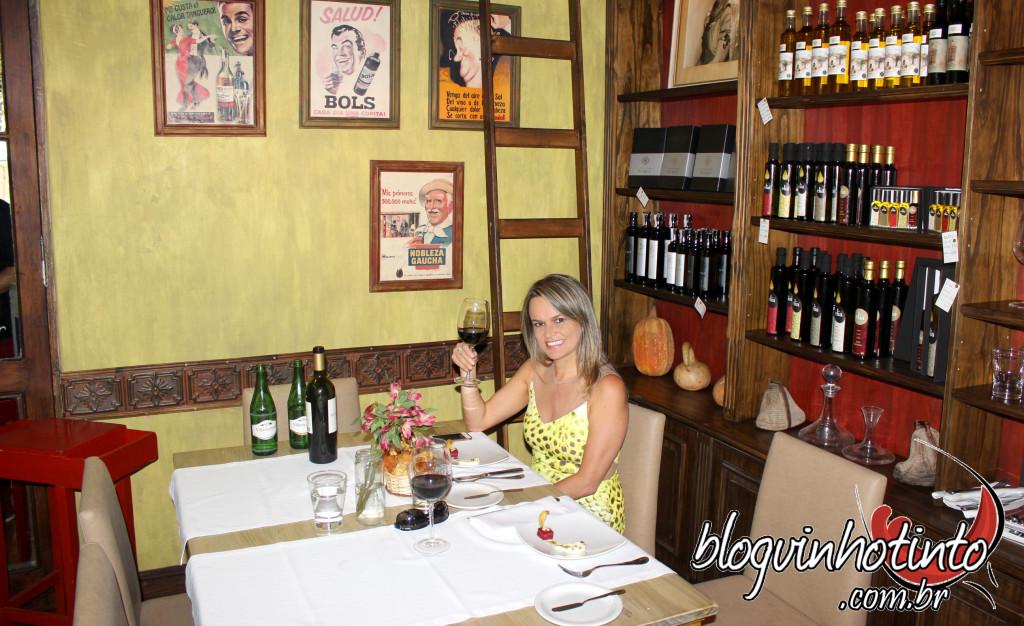 Saudades de comer nesse restaurante maravilhoso!