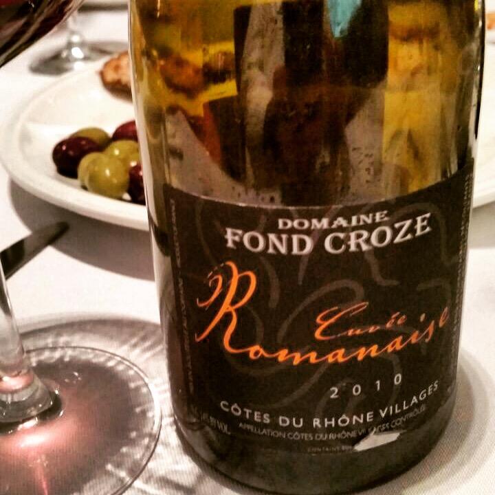 Domaine Fond Croze Vinho polêmico de estilo moderno