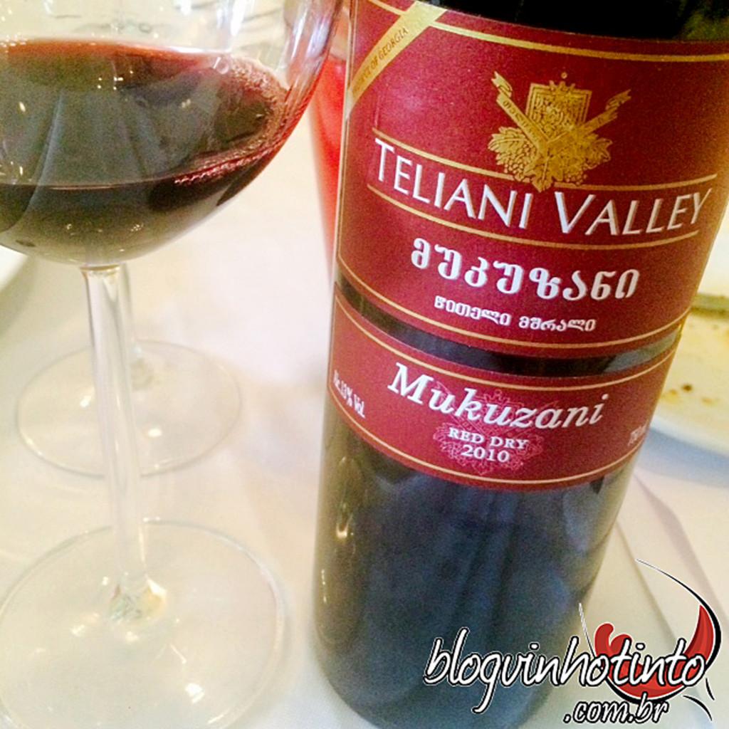 Teliane Valley - vinho da Geórgia feito em ânforas subterrâneas