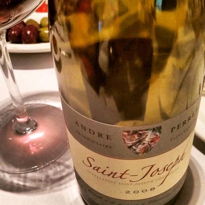 """Saint Joseph: elegante, leve e frutado como um """"Borgonha""""."""
