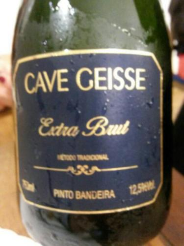 Cave Geisse Extra Brut para abrir o apetite