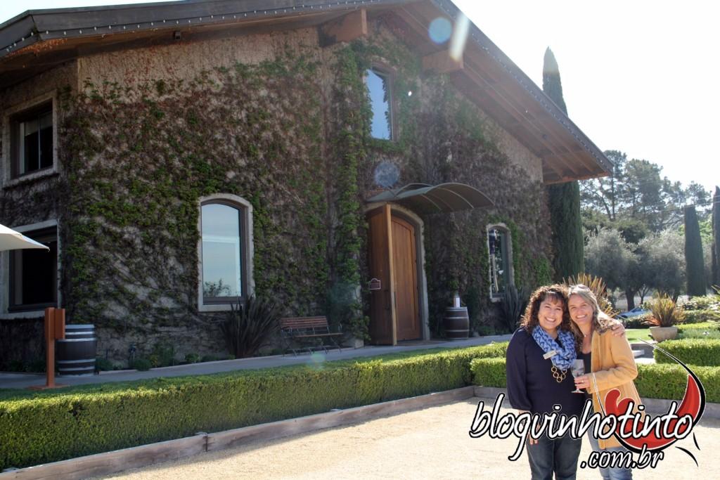 Com Rosy Galanti, Coordenadora de Hospitalidade e Merchandising da vinícola