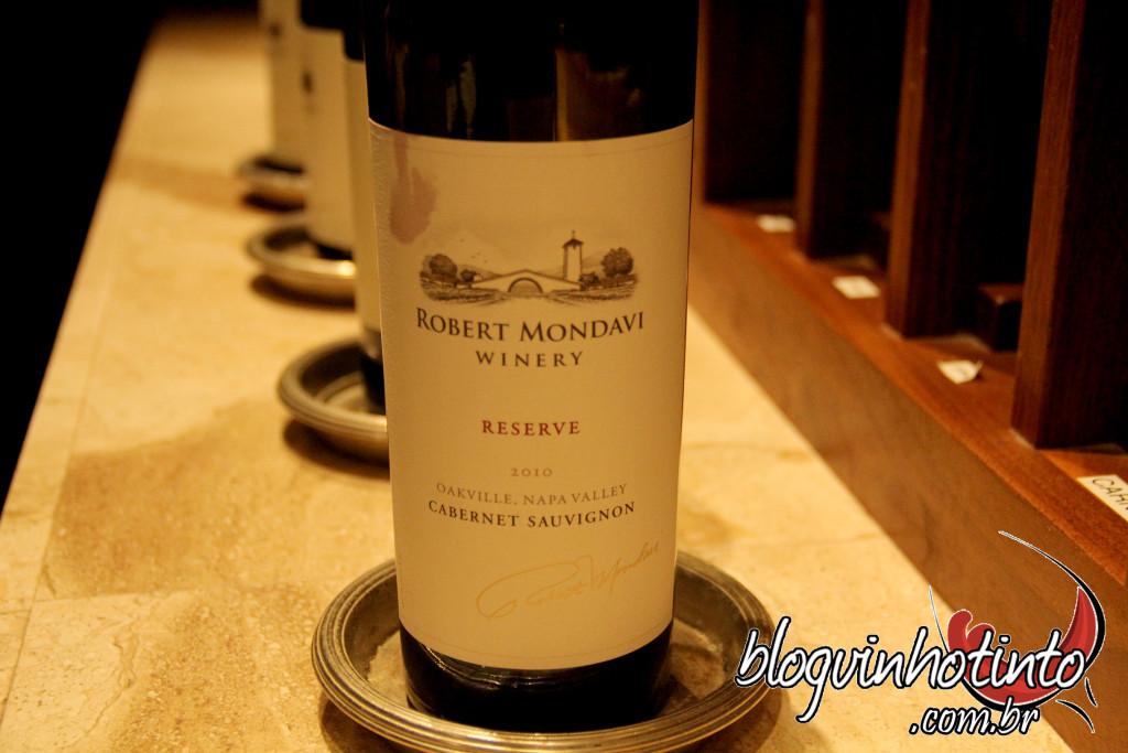 "Cabernet Sauvignon 2010 Reserve da Robert Mondavi - ""Vale o quanto pesa"""