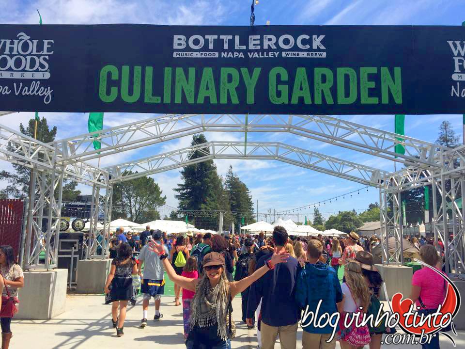 Mais de 50 restaurantes renomados montaram estande no Culinary Garden