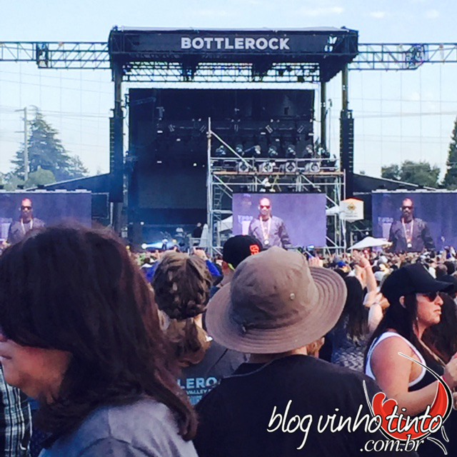 Snoop Dog foi uma das grandes atrações do evento.