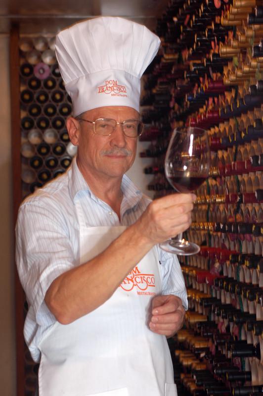 Os jantares das degustações são assinados pelo Chef Francisco Ansiliero