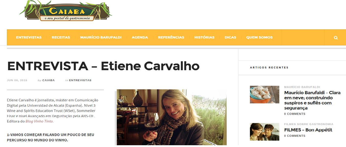 Entrevista Etiene