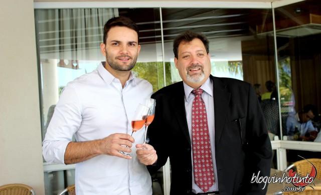 César Santos e Rodrigo Leitão são os empresários organizadores do Brinda Brasil