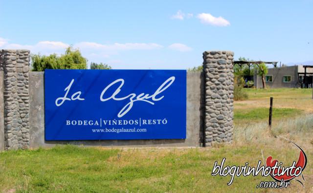 Bodega La Azul - vinícola de garagem e a único com 100% de capital argentino no Valle do Uco