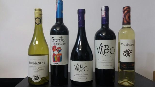 Vinhos Chilenos Viu Manent farão parte da harmonização do jantar