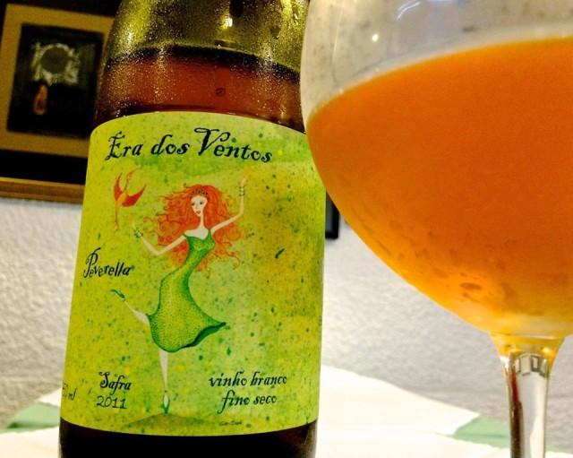 Era dos Ventos Peverella - Exemplo de vinho laranja produzido no Brasil