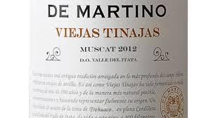 Chileno Muscat Viejas Tinajas da De Martino - Excelente relação preçoxqualidade e ótimo produto para quem quer começar a aprender sobre vinhos laranjas