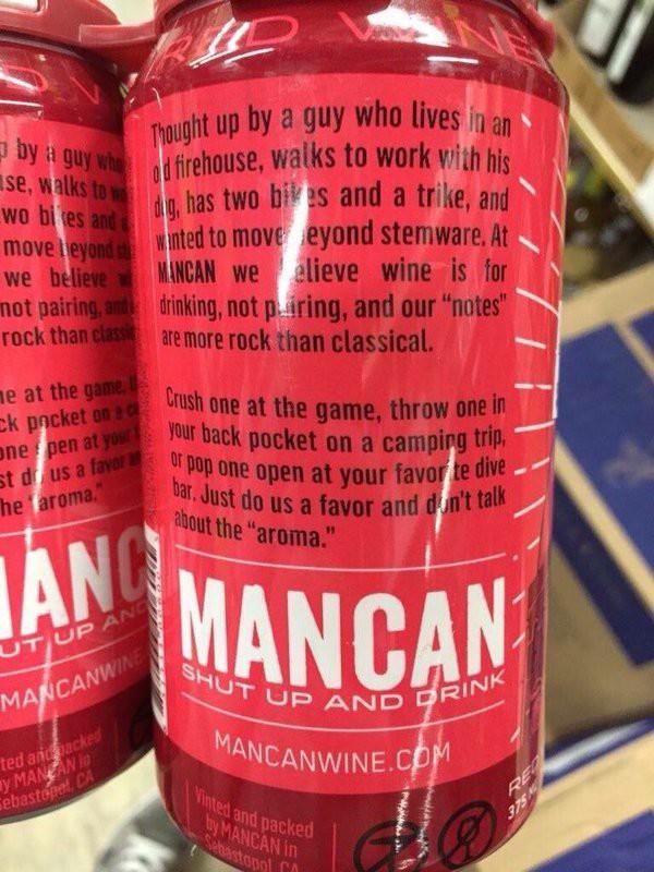 """""""Cale a boca e beba"""" - esse é o recado da Mancan"""