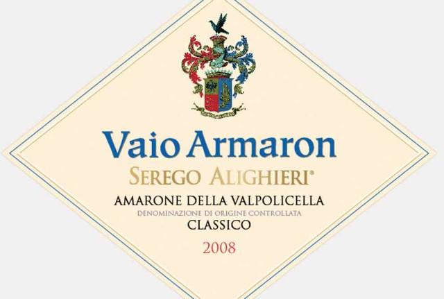 8. lugar no Top 10 Wine Spectator. Amarone, Itália. Nota - 95 e preço U$85
