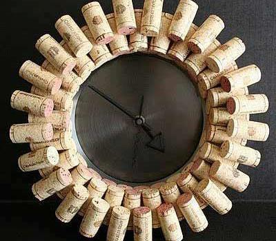 Relógio de Rolhas