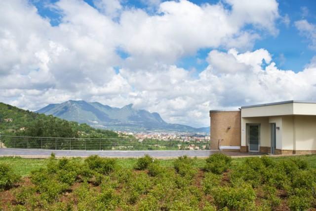 Vista da vinícola Villa Raiano