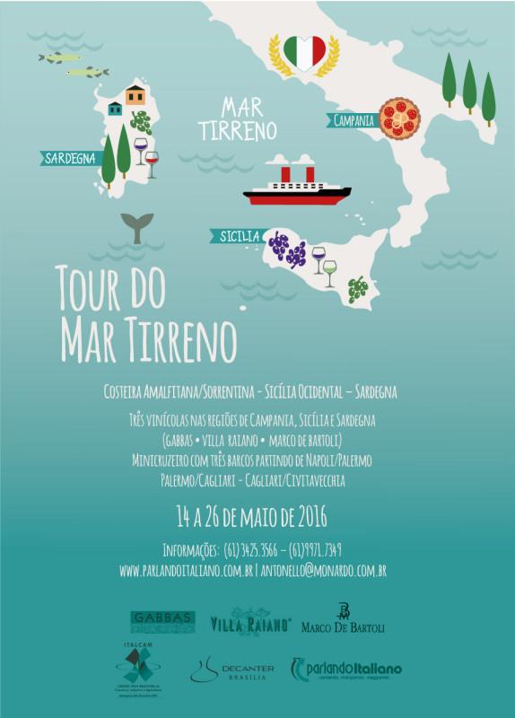Viagem a Italia com a Parlando Italiano - dessa vez o tour será pelo Mar Tirreno