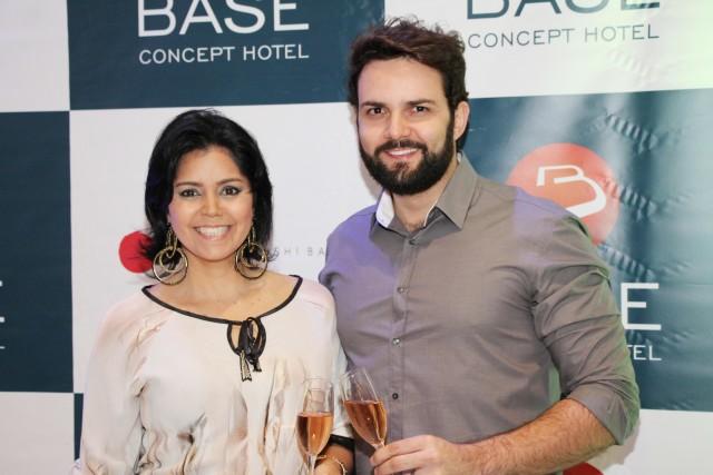 Betta Doelinger e César Santos