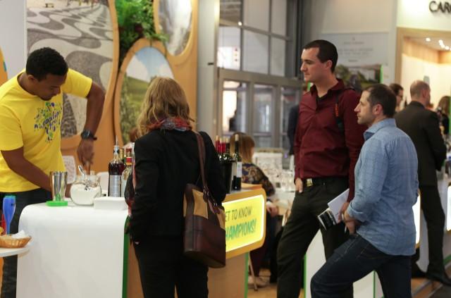 Drinks com vinhos e espumantes brasileiros fizeram sucesso na ProWein 2016- Foto André Bezerra
