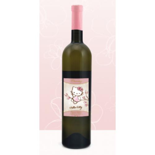 Do universo infantil ao vinho, a vinícola italiana Torti Winery rotula os vinhos com a gata mais famosa do mundo.