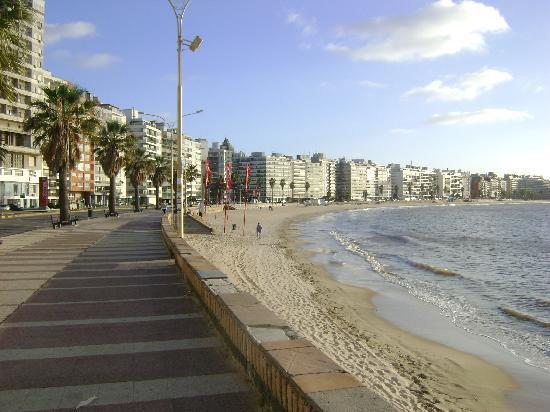 O My Suites Hotel fica localizado em Pocitos, próximo à orla e a ótimos restaurantes.
