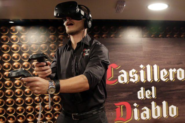 Participação em ação no game inédito promovido no Brasil pela Casillero del Diablo