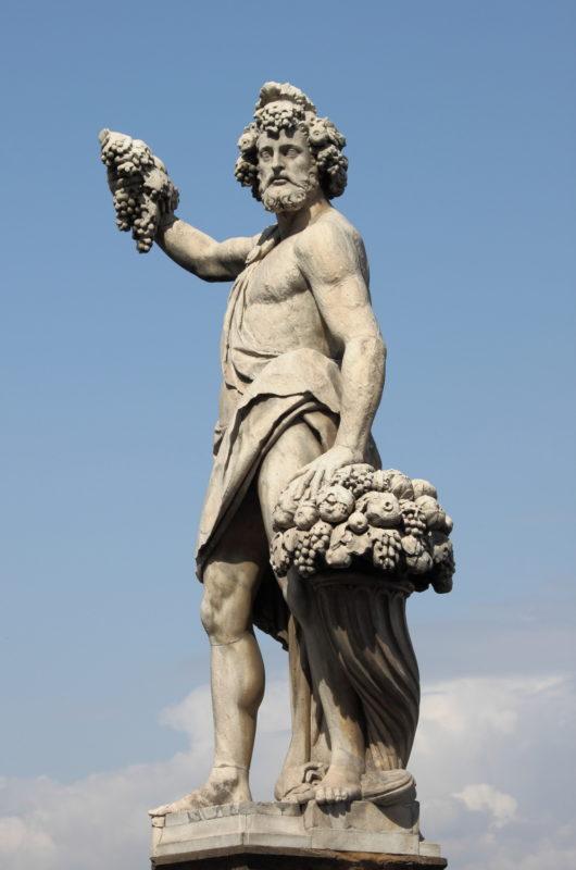 Estátua de Baco, Florença (Itália)