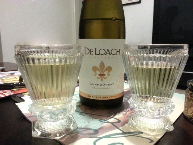 De Loach Heritage Reserve Chardonnay 2014: já garanti o meu no site do Sonoma